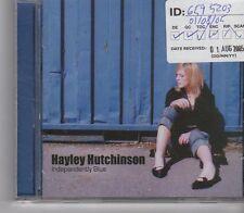 (GA254) Hayley Hutchinson, Independently Blue - 2005 CD