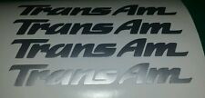 "Trans Am Wheels ""Decals"" ""Stickers"" Pontiac Free Shipping & Tracking Ram Air WS6"