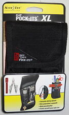 TOOL BELT POUCH HOLSTER fits MULTITOOL KNIFE FLASHLIGHT KEYS POCKITS XL NITE IZE