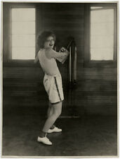 Vintage 1930 Clara Bow Physical Culture Pin-Up Photograph Lrg Vintage Otto Dyar