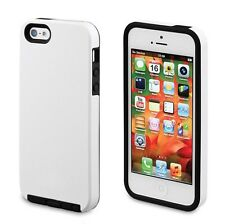 Acase Superleggera Pro Dual Layer Protective Case For iPhone 5S 5 White (New)