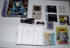Nintendo Original Gameboy System In Box With Tetris Instructions Inserts DMG-01