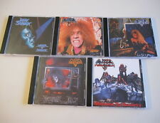 Lizzy Borden 5CD Set Love You To Pieces Menace To Society Terror Rising Visual..