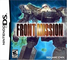 Front Mission [Nintendo DS DSI Square Enix RPG Exclusive] Brand NEW Sealed