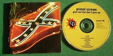 Primal Scream Give Out But Don't Give Up inc Big Jet Plane / Call On Me + CD