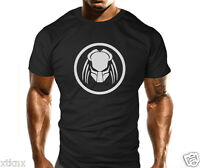 Mens Predator Gym Workout MMA T-Shirt Bodybuilding Loose Fit Casual Top Gift