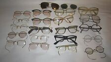 Lot of Eyeglass Frames w lenses - Some Gold Filled