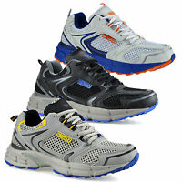 Mens Casual Running Walking Gym Sports Shock Absorbing Trainers Shoes Size