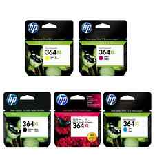 GENUINE HP 364XL FULL SET UNBOXED CYAN MAGENTA YELLOW BLACK PHOTO BLACK