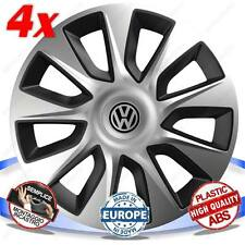 SET 4 BORCHIE RUOTA COPRI CERCHI STRATOS BICOLOR 15 VW GOLF SPORTSVAN