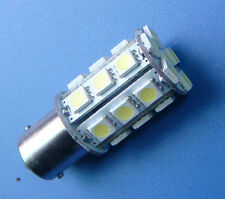 1pc BA15S 1141 1156 bulb AC/DC 12~24V 24-5050 SMD LED Super Bright 370LM, White