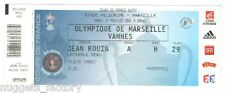 Billet  / Place  OM Olympique de Marseille - OM vs Vannes  ( 084 )