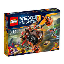 70313 LEGO Moltor's Lava Smasher NEXO KNIGHTS™ Age 8-14 / 187 Pcs / NEW for 2016