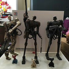 Ashley Wood Underverse Popbot set w/ 3x Kitty | Ascended Badbot TK ThreeA 3A 1/6