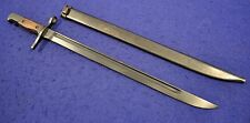 SUPERB! ORIGINAL WWII JAPANESE TYPE 30 COMBAT BAYONET FOR ARISAKA RIFLE