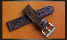 Swiss Ammo Handmade 24mm Leather Watch Strap To Suit Panerai, IWC And Others