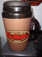 Tim Hortons - Thermos -  Jumbo 64 Oz. Mug -Brown Color - Aladdin