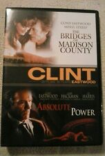 The Bridges Of Madison County / Absolute Power (DVD) Brand new not sealed.