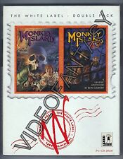 The Secret of Monkey Island & Monkey Island 2 PAL-PC CD-ROM BIG BOX White Label