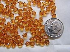 720 PIECES SWAROVSKI CRYSTAL BEADS #5310 4.5MM TOPAZ - FACTORY  PACKAGE