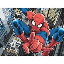 """Marvel SPIDERMAN Pencil by Number Kit  9""""X 12"""""""