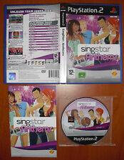 SingStar Anthems (Sing Star) PlayStation 2 PS2 PStwo, PAL-UK, software en Inglés