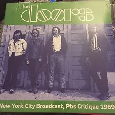 THE DOORS - LIVE NEW YORK PBS CRITIQUE APR 28/29 1969 - NEW - LP RECORD