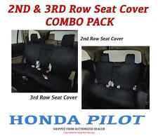 Genuine OEM Honda Pilot 2nd & 3rd Row Seat Covers for LX & EX Models 2016