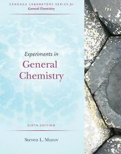Experiments in General Chemistry by Steven L. Murov (2014, Paperback)