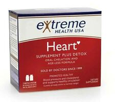 Extreme Health Oral Chelation Heart Detox Supplement Artery Cleansing 2 btl set