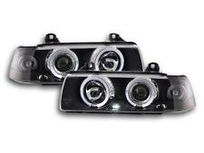 2 FEUX PHARE AVANT ANGEL EYES A LED BMW SERIE 3 E36 MONOBLOC BERLINE ET TOURING