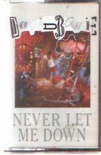 DAVID BOWIE Cassette Spain 1987 Never let me down