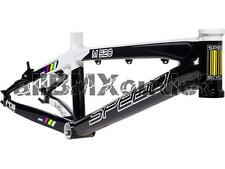 SpeedCo MSeries XLT Aluminum Race Frame-Black/White-Pro Plus 24""
