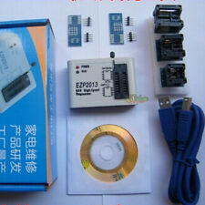 EZP2013 USB Programmer SPI 24 25 93 EEPROM Flash Bios Chip + Software +Socket