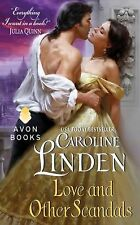 NEW Signed by Author Love and Other Scandals by Caroline Linden PB 2013