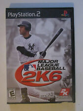 Major League Baseball 2K6 Sports Game Playstation 2