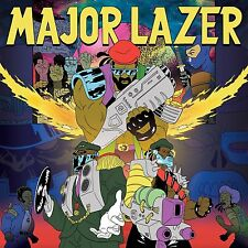 Major Lazer FREE THE UNIVERSE +MP3s GATEFOLD Mad Decent DIPLO New Vinyl 2 LP