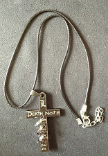 Death Note Anime Cross Charm Necklace Cosplay