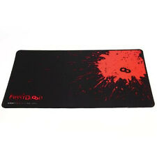 New PC Laptop Computer Rubber Gaming Mouse Pad Mat Large Size 420*250*25mm PA