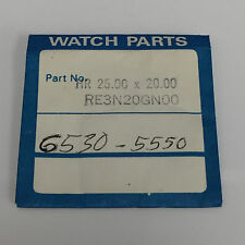 SEIKO RE3N20GN00 NEW CRYSTAL RECTANGULAR NOS FITS 9020-5050