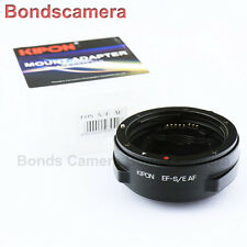 Kipon Auto Focus AF Adapter for Canon EOS EF Lens to Sony E mount NEX A7 A7R A7S