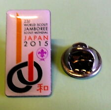 23rd  world scout jamboree Japan 2015 official Logo Color Pin Badge / patch