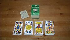Vintage Tarot Card Deck Tarot of Marseilles B.P. Grimaud 78 cards French