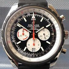 BREITLING NAVITIMER CHRONO-MATIC 49MM A14360 CHRONOGRAPH AUTOMATIK BOX & PAPIERE