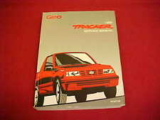 1992 ORIGINAL GEO TRACKER SERVICE SHOP REPAIR MANUAL 92 + WIRING DIAGRAMS OEM