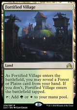 FORTIFIED VILLAGE NM mtg Shadows Over Innistrad Land - Rare