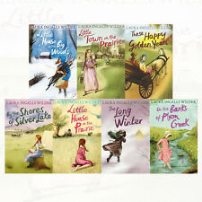 Little House on the Prairie Collection 7 Books Set By Laura Ingalls Wilder New