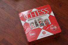 NEW & SEALED USA VERSION COCA-COLA CHESS SET COLLECTOR'S EDITION.