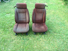 78-88 Monte Carlo Cutlass Regal El Camino Malibu OEM Bucket Seats Claret READ