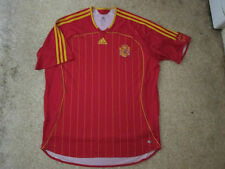 Spain Home Shirt  2005/06 - Adidas - Adult XL